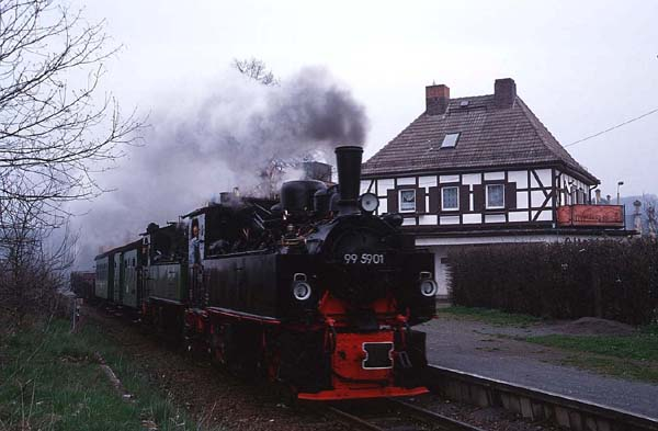99 5906, 6001 in Nordhausen-Altentor