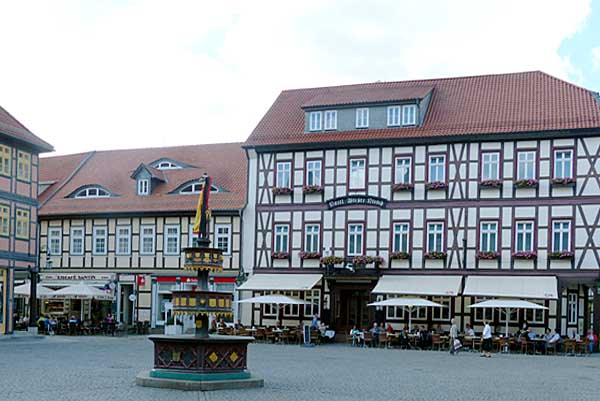 Wernigerode - Hotel Weisses Ross am Markt